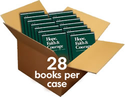Case of 28 books