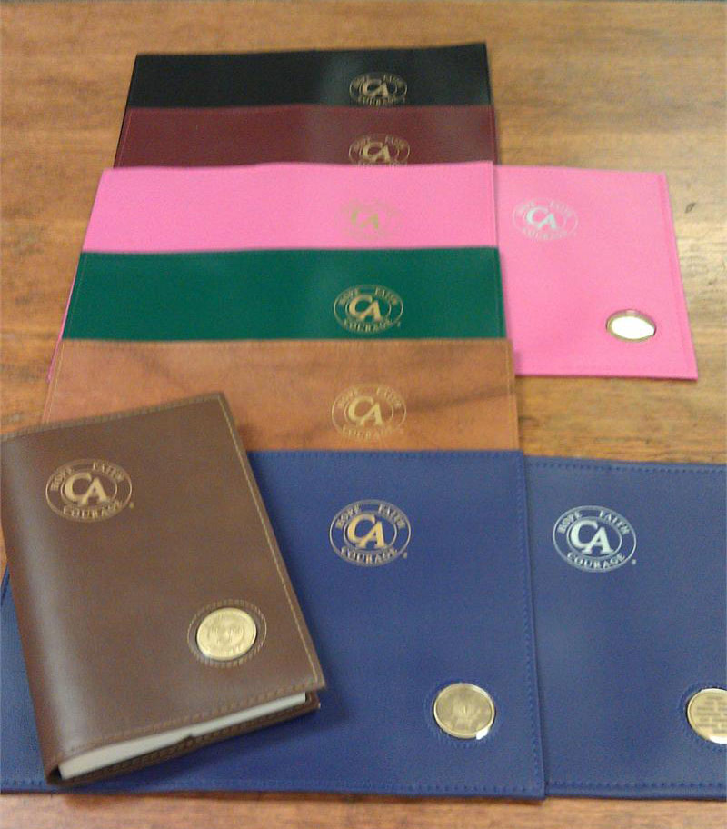 C A Big Book Cover With Coin Holder Cocaine Anonymous World Services Inc