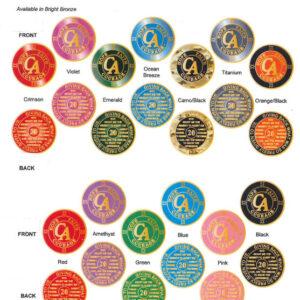 Metal Recovery Medallions / Médaillons Rétablissement